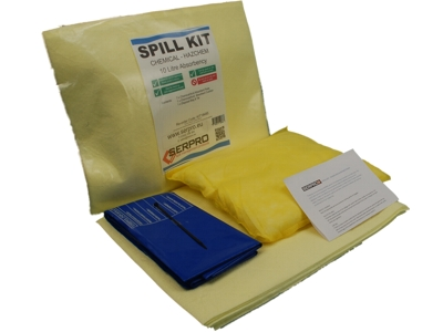 10 Litre Chemical Compact Spill Kit