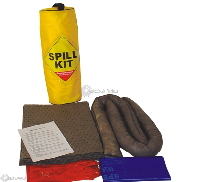 20 Litre General Purpose Zipped Bag Spill Kit