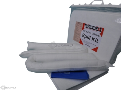 40 Litre Oil and Fuel Compact Spill Kit