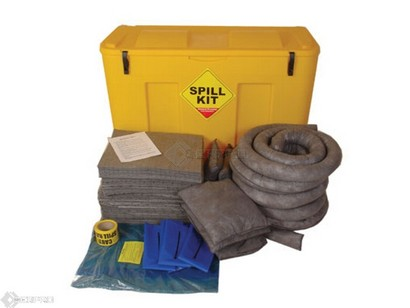 250 Litre General Purpose Spill Kit in Mobile Locker