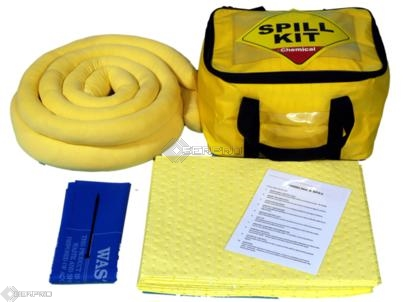 35 Litre Chemical Spill Kit in a Cube Carry Bag