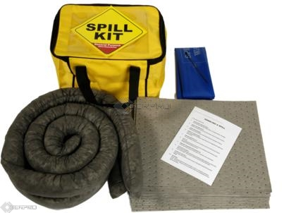 35 Litre General Purpose Spill Kit in a Cube Carry Bag
