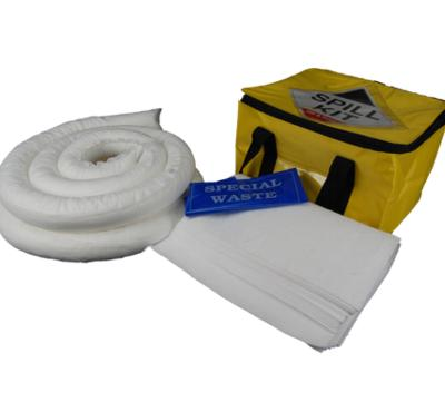 35 Litre Oil and Fuel Spill Kit in a Cube Carry Bag