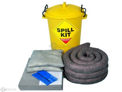 65 Litre General Purpose  Spill Kit in Plastic Drum