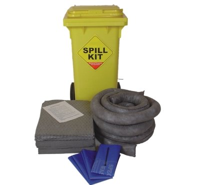 100 Litre General Purpose Mobile Spill Kit